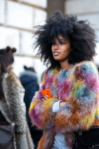 Fake fur fashion trends